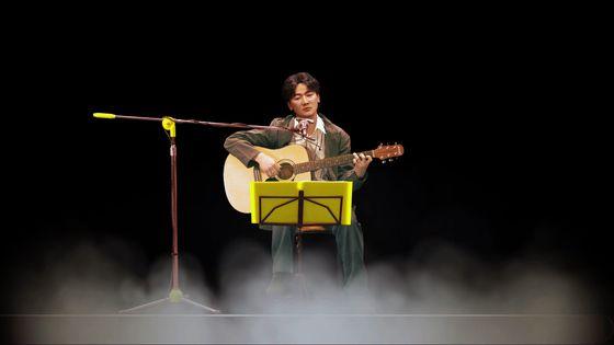 김광석 홀로그램 콘서트. 대구=최우석 기자