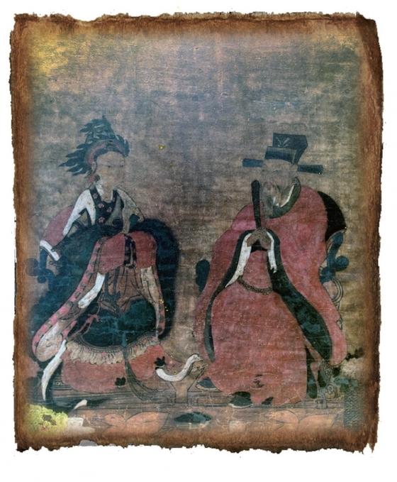 서울 종묘에 있는 공민왕 신당에 있는 공민왕과 노국공주의 영정. / 사진:중앙포토