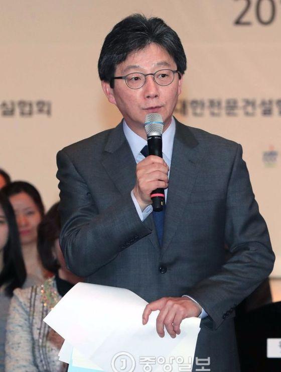 바른정당 유승민 후보. 박종근 기자