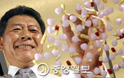이성우 삼진제약 사장의 2006년 모습 [중앙포토]