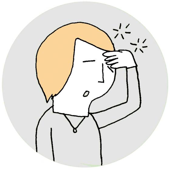 빈혈이 있으면 집중력이 떨어지고 정신이 흐릿해지는 증상이 나타난다. [중앙포토]