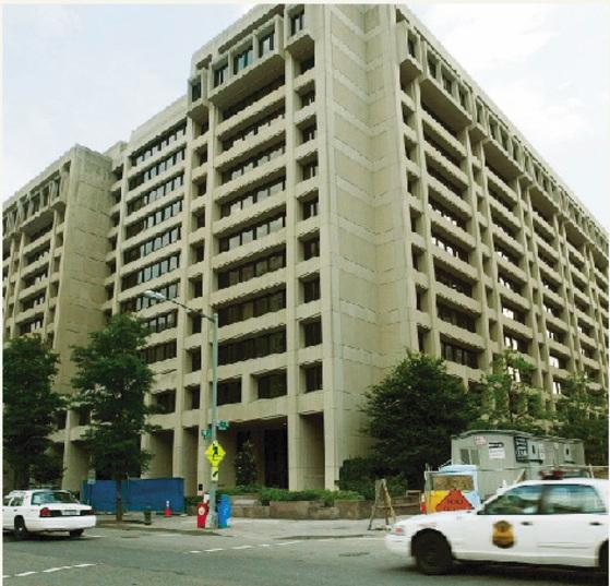 국제통화기금(IMF) 본부 빌딩. [중앙포토]