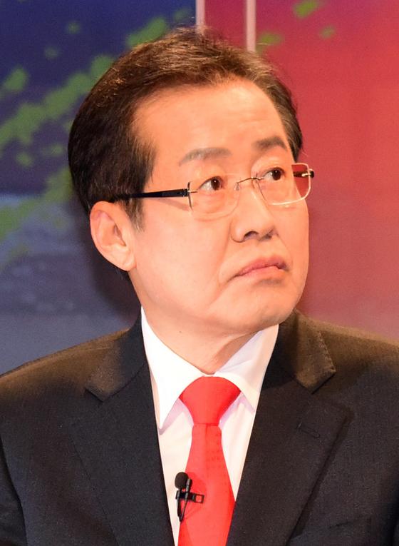 홍준표 자유한국당 대선후보. [중앙포토]