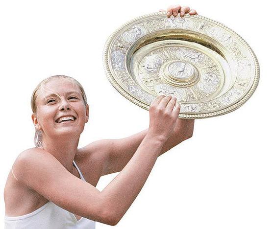 2004년 윔블던 우승.