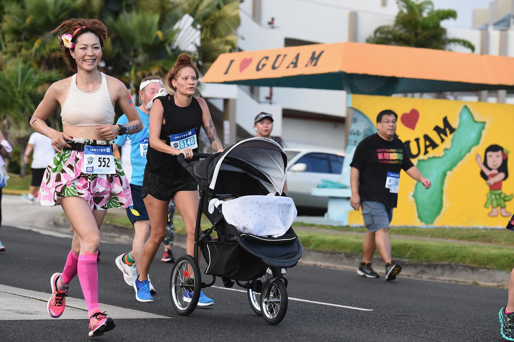 유나이티드 괌 마라톤 2017에는 19개국에서 4335명이 참가했다. [괌 관광청]