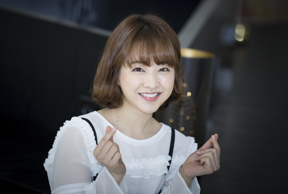 JTBC 드라마 '힘쎈여자 도봉순'의 주인공 배우 박보영이 17일 오전 논현동 까페라붐에서 인터뷰를 하고있다. 권혁재 사진전문기자