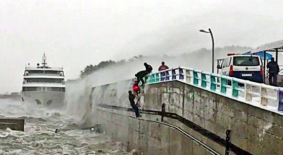 위 사진은 이번 지진과 관련이 없음 [사진 국민안전처]