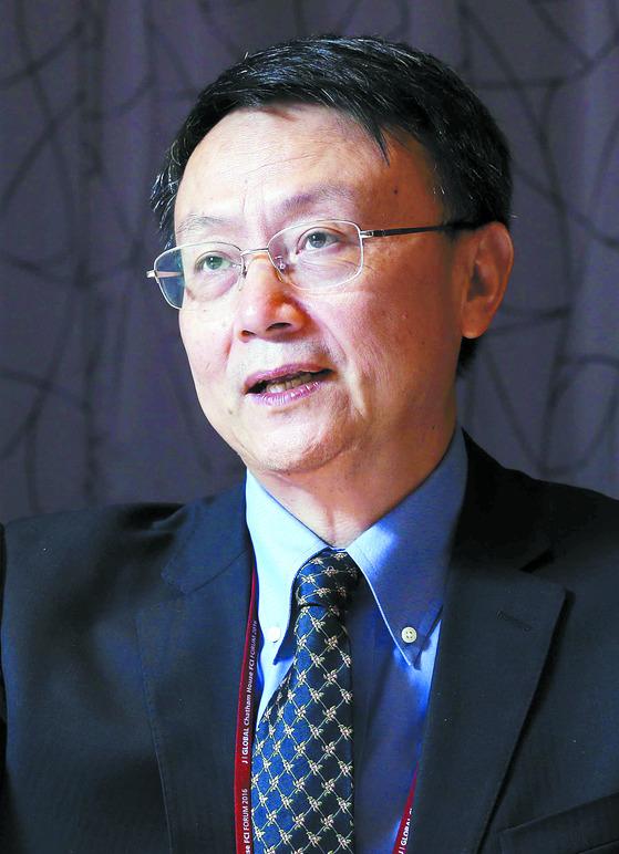 자칭궈 베이징대 국제관계학원장. [중앙포토]
