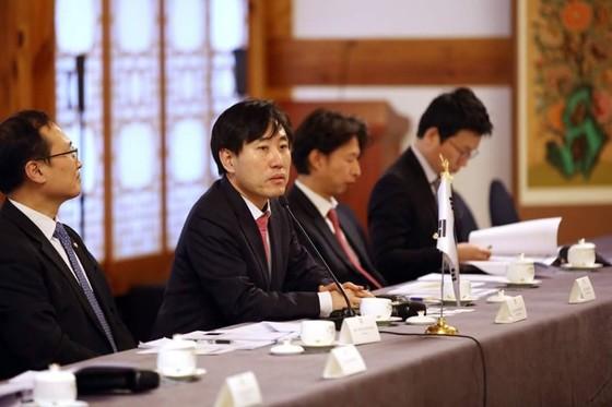 하태경 바른정당 의원(왼쪽에서 두번째) [사진 하태경 페이스북]