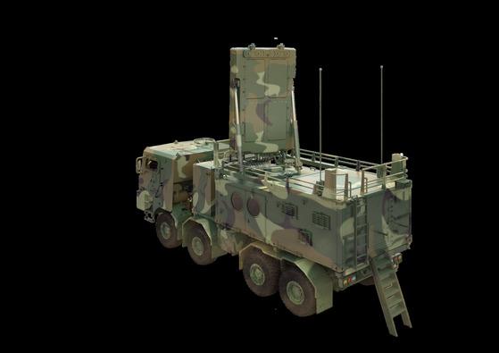 대포병 탐지레이더-II. [사진 방사청]