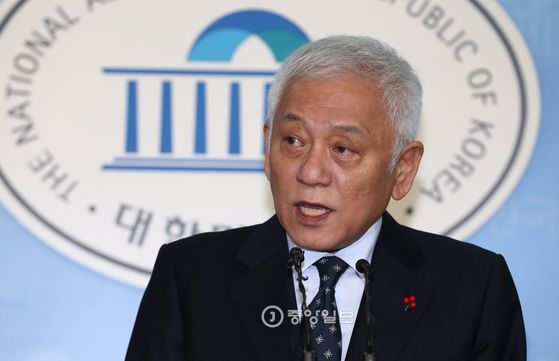김한길 전 대표 [중앙포토]