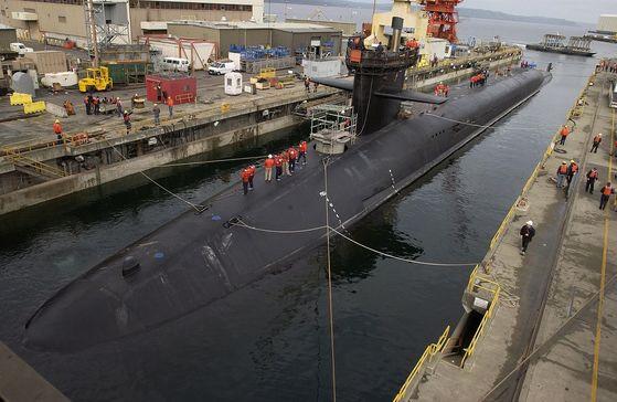 USS Michigan (SSGN-727). [사진 위키피디아 제공]