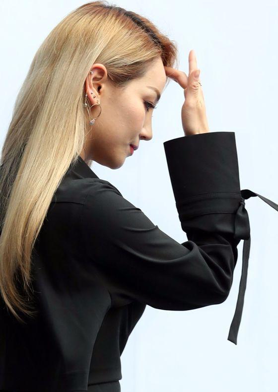 걸그룹 원더걸스 출신 예은(핫펠트).