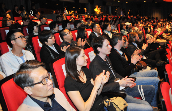 2015년 부산 영화의 전당에서 열린 제32회 부산 국제단편영화제 개막식의 한 장면. [사진 부산시]