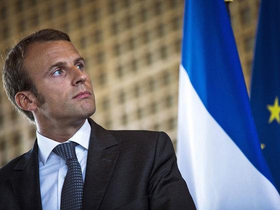에마뉘엘 마크롱 (Emmanuel Macron). [포토중앙]