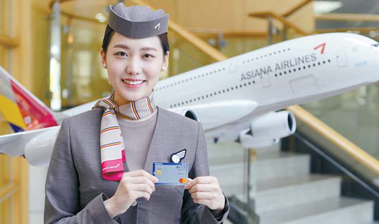 아시아나 신한카드Air 1.5는 1000원당1.5마일리지의 기본적립 혜택이 제공된다. [사진 신한카드]