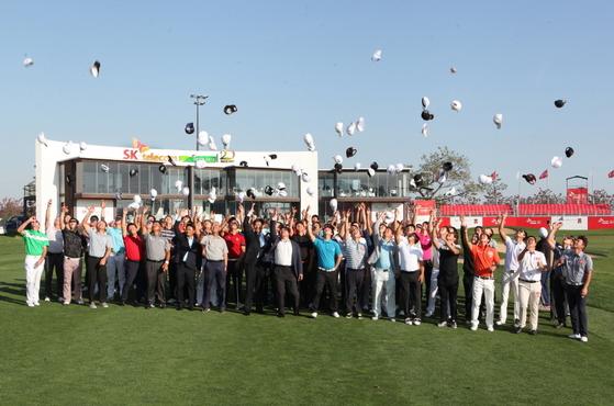 KPGA 코리안투어 SK텔레콤 오픈이 선수들과 함께 그린 위의 행복동행을 예고하고 있다. [KPGA 제공]