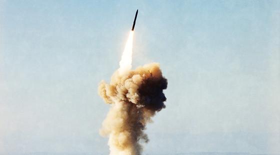 Minuteman III missile. [RT]