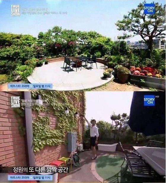 지난해 방송된 김혜은의 '초호화' 아파트 전경. [사진 CJ E&M 스토리온 캡처]