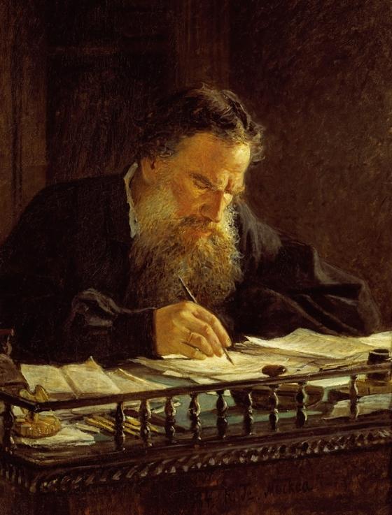 톨스토이는 성경을 열심히 읽었지만 신약에 나오는 예수의 기적을 부인했고, 기적은 교회가 사람들을 속이기 위해 신약에 끼워 넣은 장치라고 주장했다. / 김환영