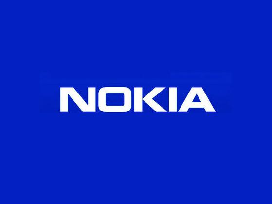 노키아 로고.