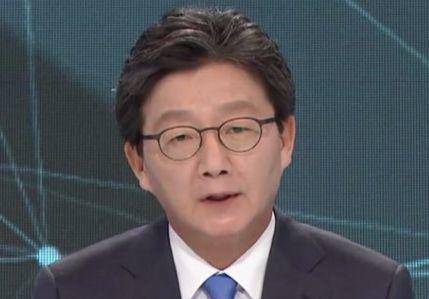 4월 28일 5차 토론의 유승민 후보. [사진 화면 캡처]