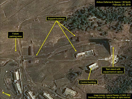 북한이 탄도미사일 생산을 하는 태성기계공장을 최근 현대화했다고 미국의 북한 전문 웹사이트 38노스가 공개했다. [사진 =38노스]