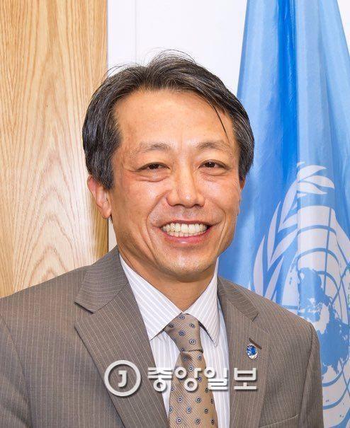 김원수 전 유엔 사무차장. [중앙포토]
