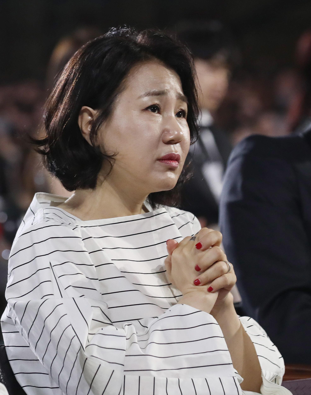 제53회 백상예술대상 김은숙 작가,간절한 바람