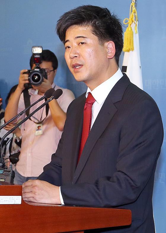 자유한국당 정준길 대변인