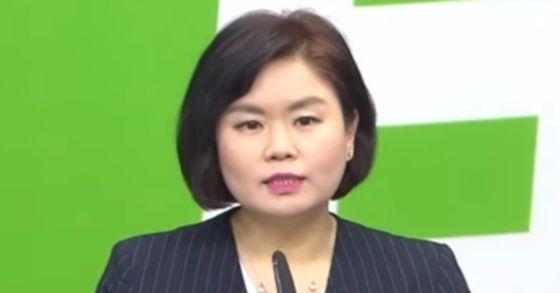 국민의당 김유정 대변인. [중앙포토]