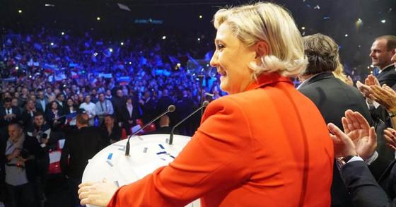 극우성향인 국민전선(FN) 소속 프랑스 대선 후보 마린 르펜 [사진 르펜 페이스북]