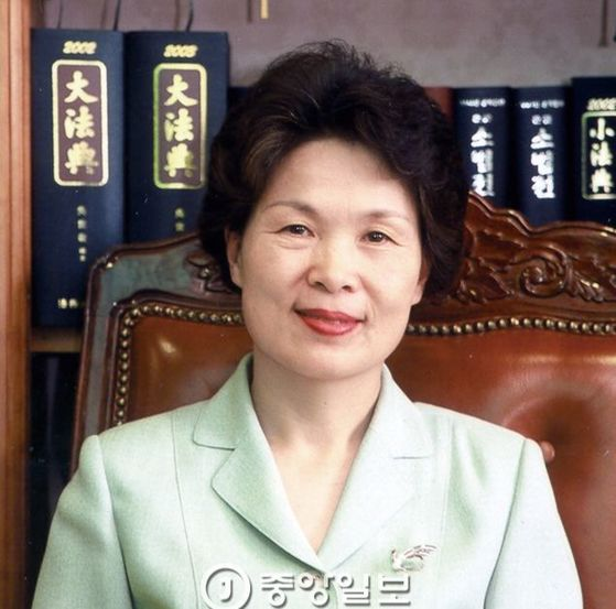 전효숙 전 헌법재판관 [중앙포토]