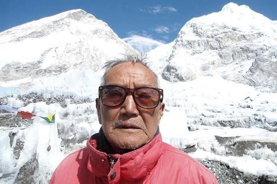 네팔 산악인 민바하두르 셰르찬의 생전 모습. [사진 히말라야타임스]
