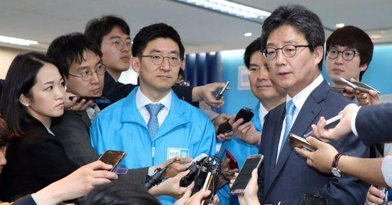 유승민 바른정당 대선후보. [중앙포토]