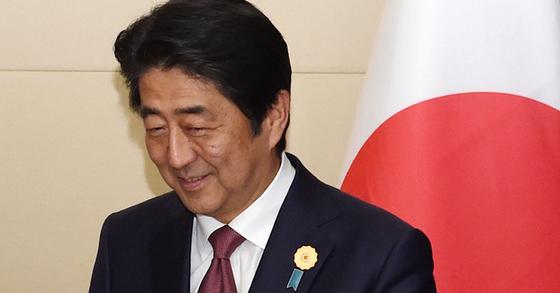 아베 신조(安倍晋三) 일본 총리. [중앙포토]