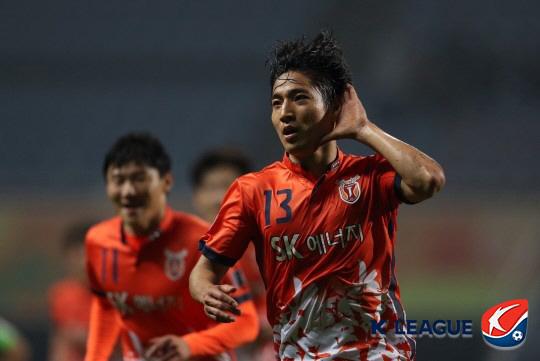 제주 정운. 사진=한국프로축구연맹