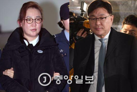 김영재, 박채윤 부부 [중앙포토]