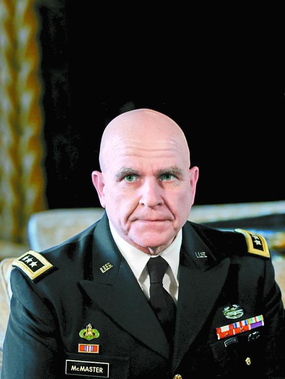 제임스 맥마스터 백악관 국가안보보좌관