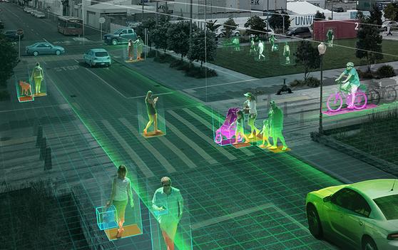 저 사람 이상하네 … AI 카메라가 범죄 막는 미래 도시