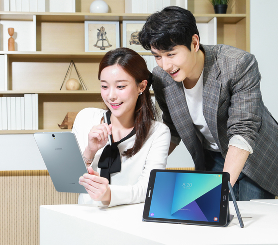 삼성전자는 11일 태블릿PC 신제품 '갤럭시탭 S3'를 국내 시장에 출시한다. [사진 삼성전자]