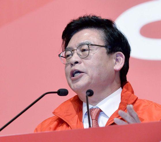 정우택 자유한국당 원내대표. 김성태 기자