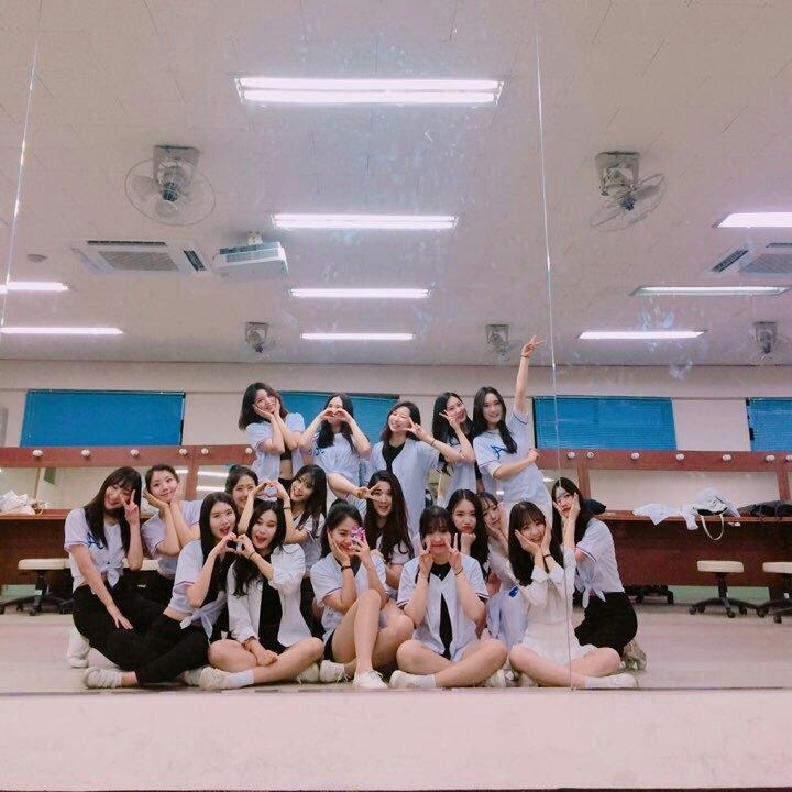 호원대 항공서비스학과 댄스 동아리 '에어라인' 멤버들이 학교 연습실에서 포즈를 취하고 있다. [사진 호원대]