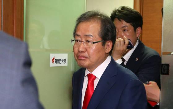 홍준표 전 자유한국당 대선 후보 [중앙포토]