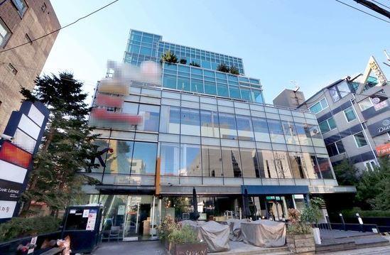 최순실 소유의 서울 강남구 신사동 빌딩. 조문규 기자