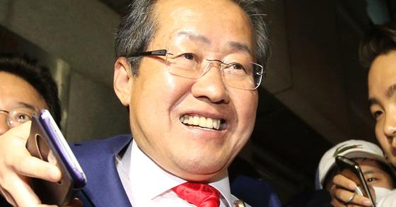 대선후보였던 홍준표 전 경남지사. [중앙포토]