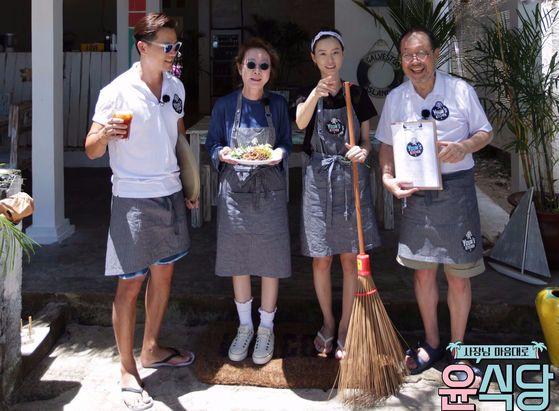 tvN 예능 '윤식당' [사진 tvN ]