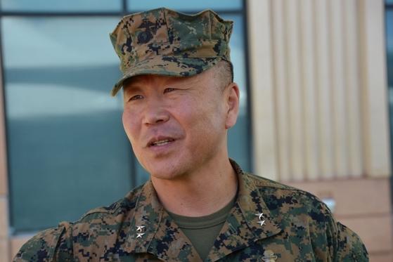 미국 태평양사령부 산하 특전사령부(SOCPAC) 사령관에 취임한 한국계 대니얼 유 소장.[사진 성조지]