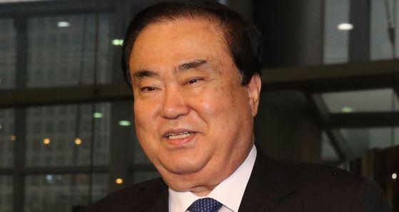 일본 특사로 파견되는 문희상 전 국회 부의장