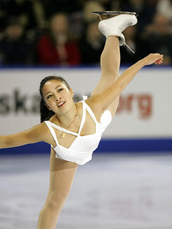 Imported from BMP image: tAAAaaFrAa.bmp Michelle Kwan performs in the Marshalls US Figure Skating Challenge in Boston, Sunday, Dec. 11, 2005. 여자 싱글 피겨스케이팅 미셸 콴